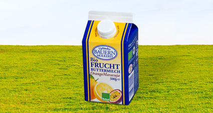 Fruchtbuttermilch Orange